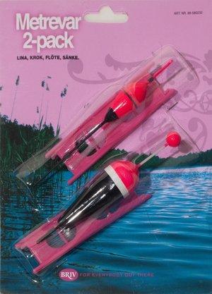 Metrevar Pennmodell 2-pack Rosa