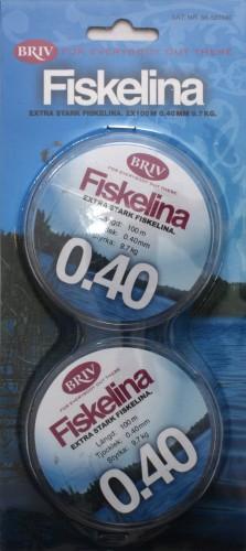 Fiskelina 2x100 m  0,40 mm 9,7 kg, 1/